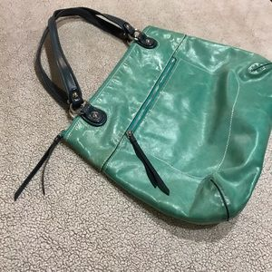 Coach Poppy Large Tote Bag.